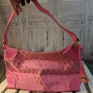 Dooney Bourke handbag purse bag tote shoulder casu